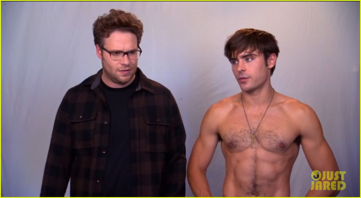 zac efron goes shirtless in neighbors tv spot watch now 02