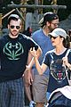 chris evans minka kelly disneyland date 02