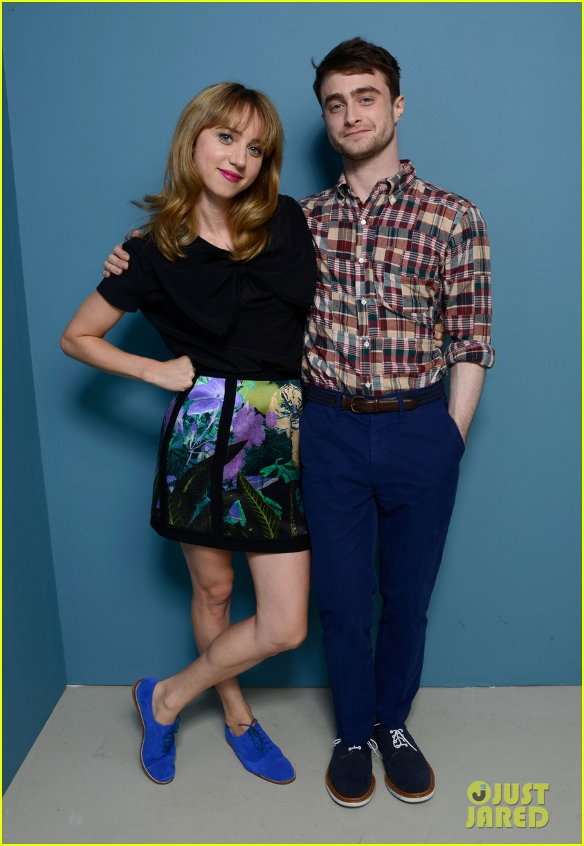 daniel radcliffe zoe kazan the f word portraits panel tiff 02