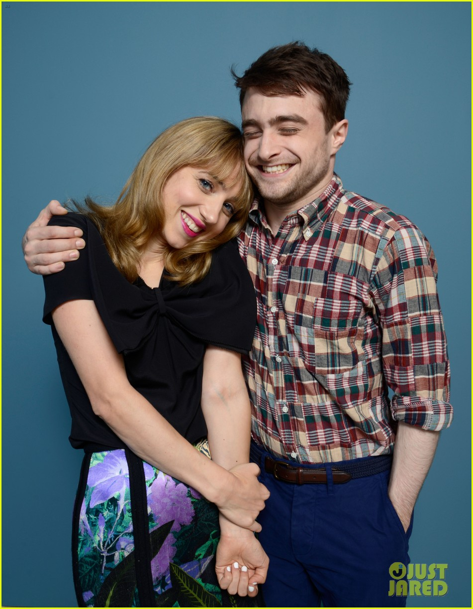 daniel radcliffe zoe kazan the f word portraits panel tiff 28