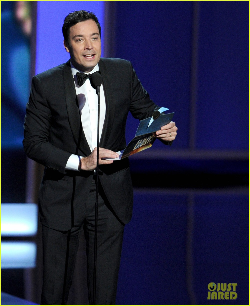 jimmy fallon seth meyers emmys 2013 with jimmy kimmel 102958420