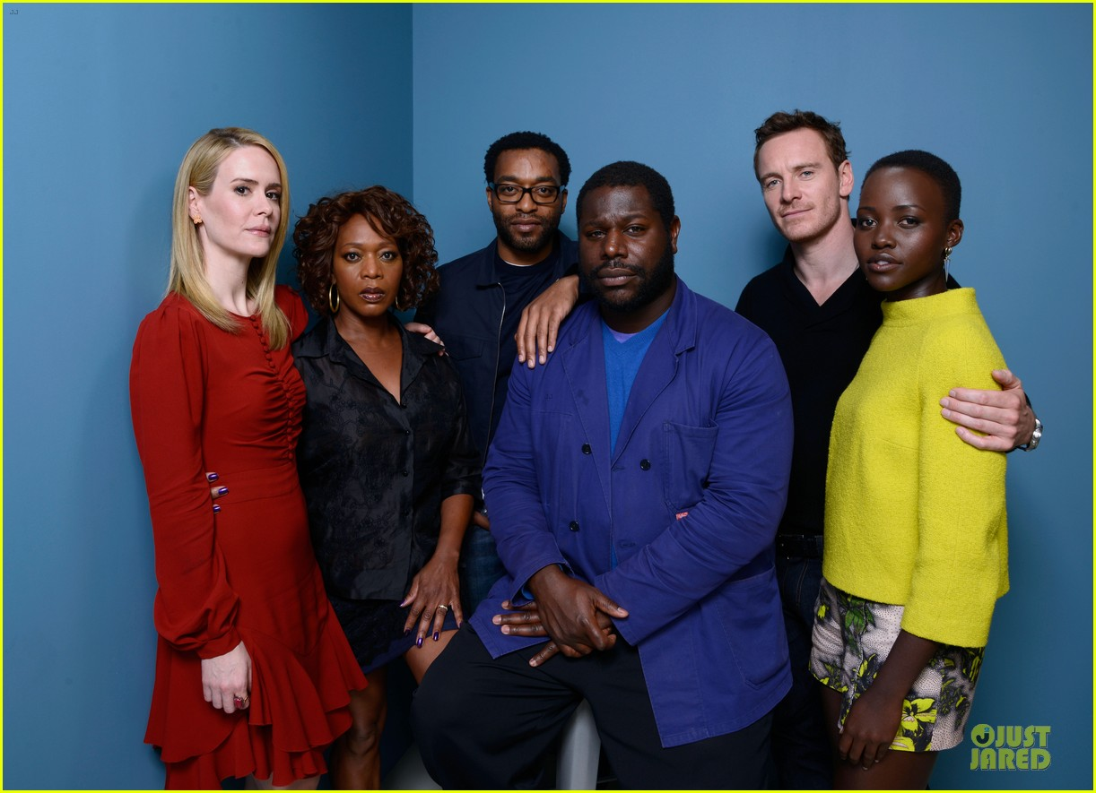 michael fassbender chiwetel ejiofor 12 years a slave tiff portraits 252946107