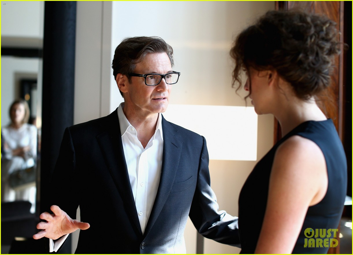colin firth chopard photo call with livia giuggioli 132943462
