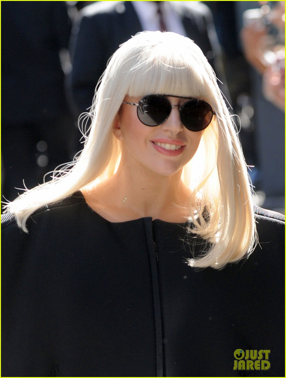 lady gaga serena williams exit good morning america studio 17