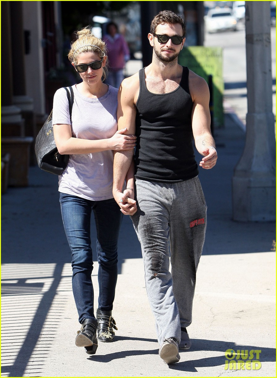 ashley greene holds hands with mystery man 01