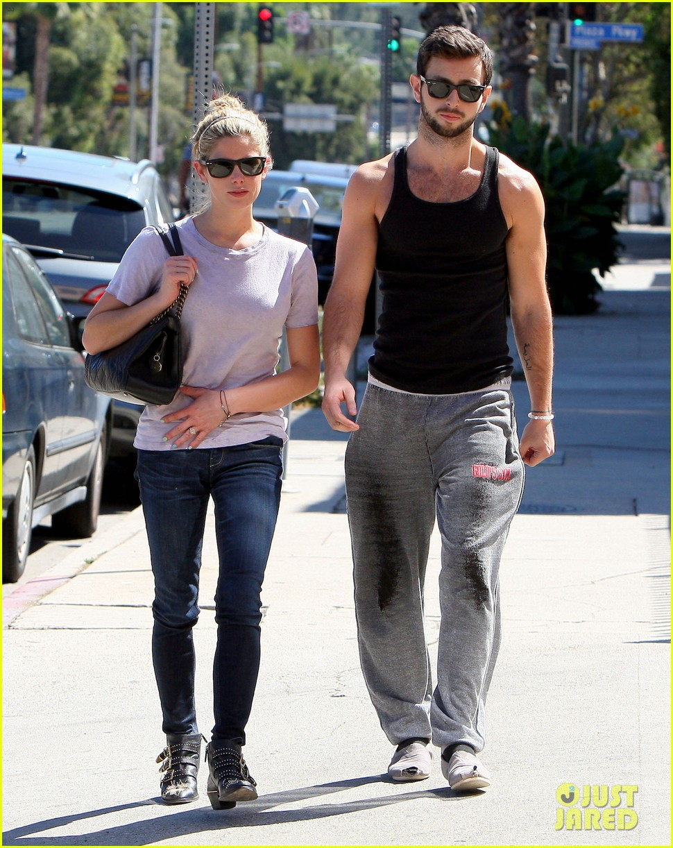 ashley greene holds hands with mystery man 19
