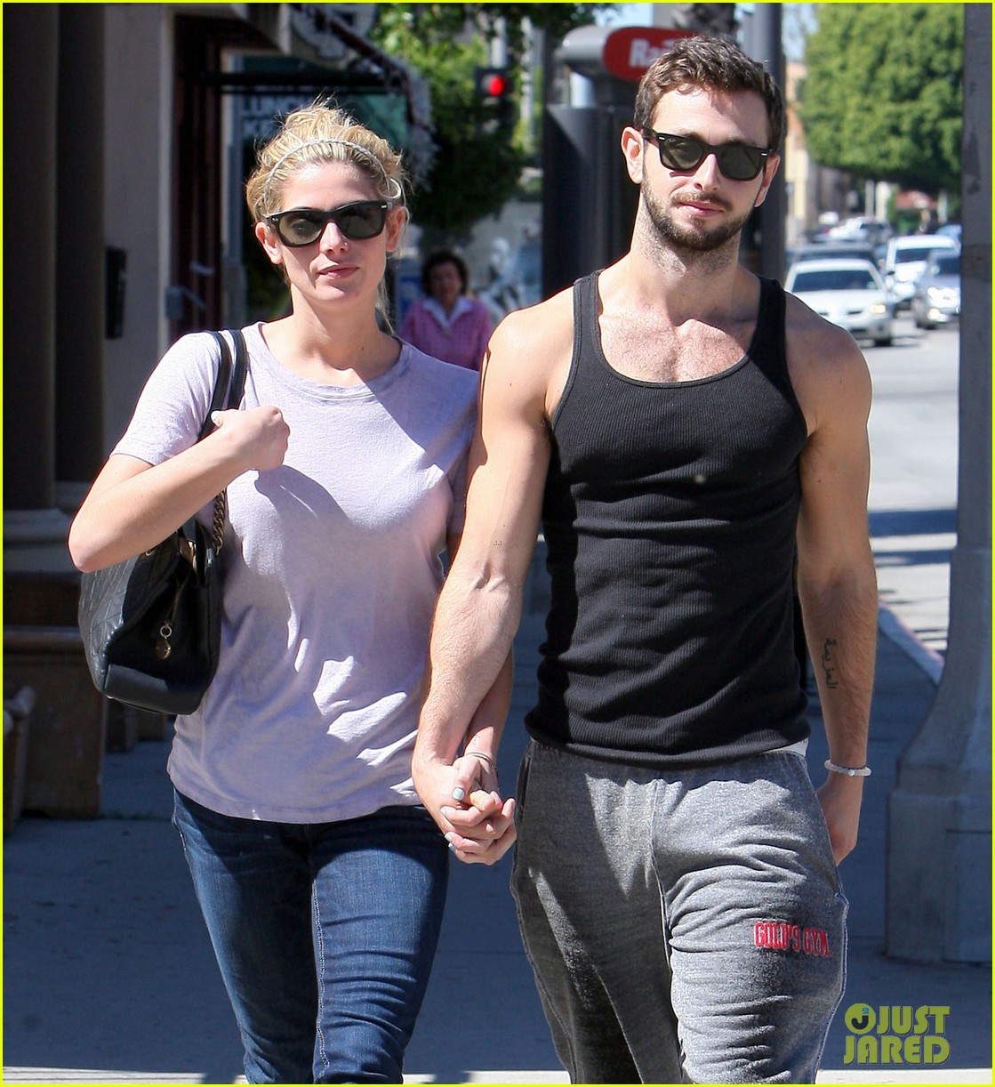 ashley greene holds hands with mystery man 24