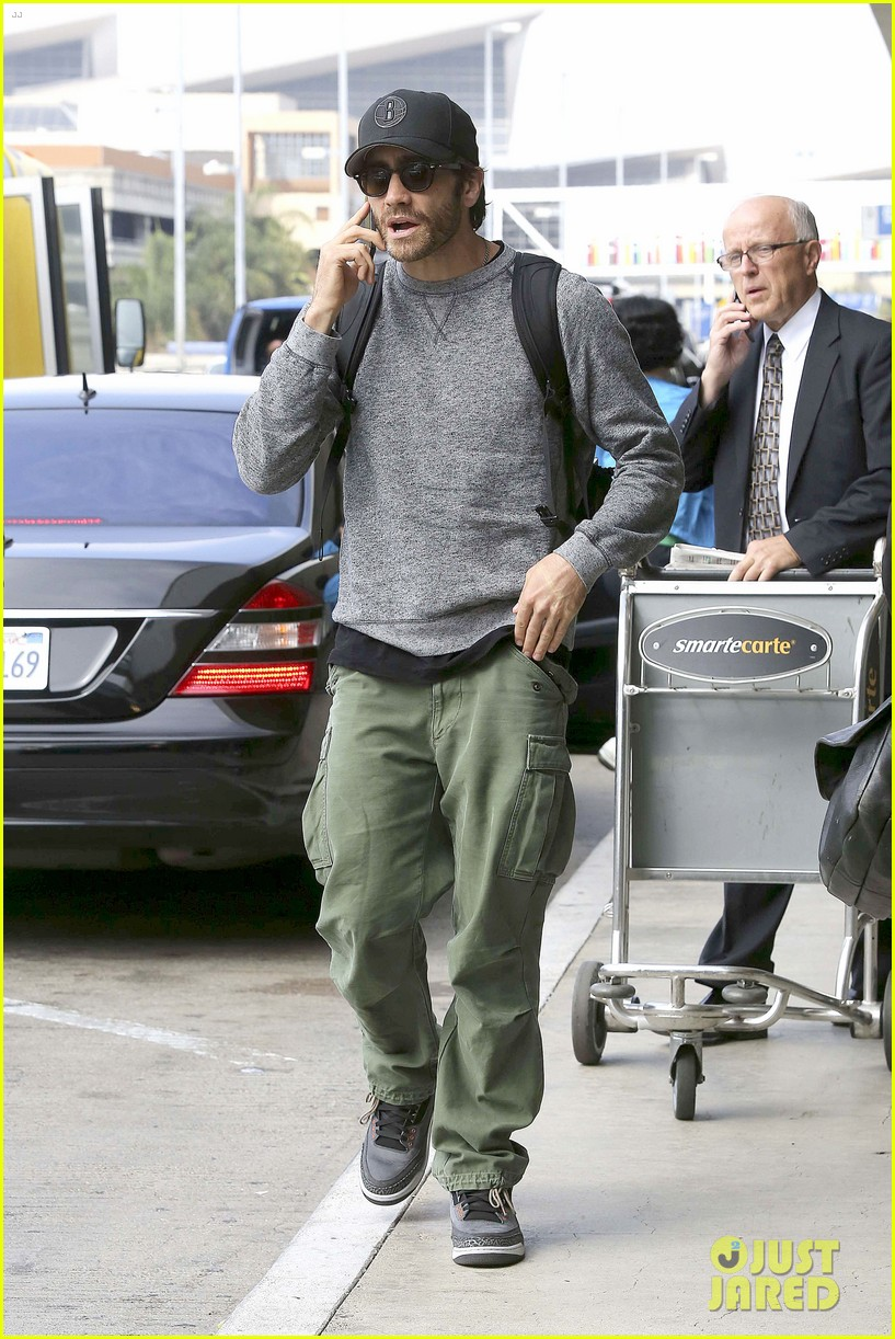 jake gyllenhaal james franco land in los angeles after tiff 20