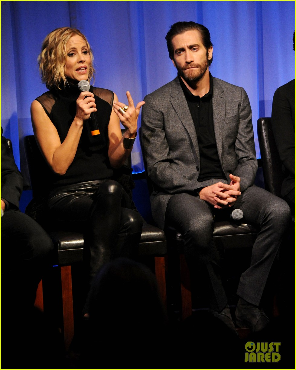 jake gyllenhaal hugh jackman prisoners ampas screening 252955900