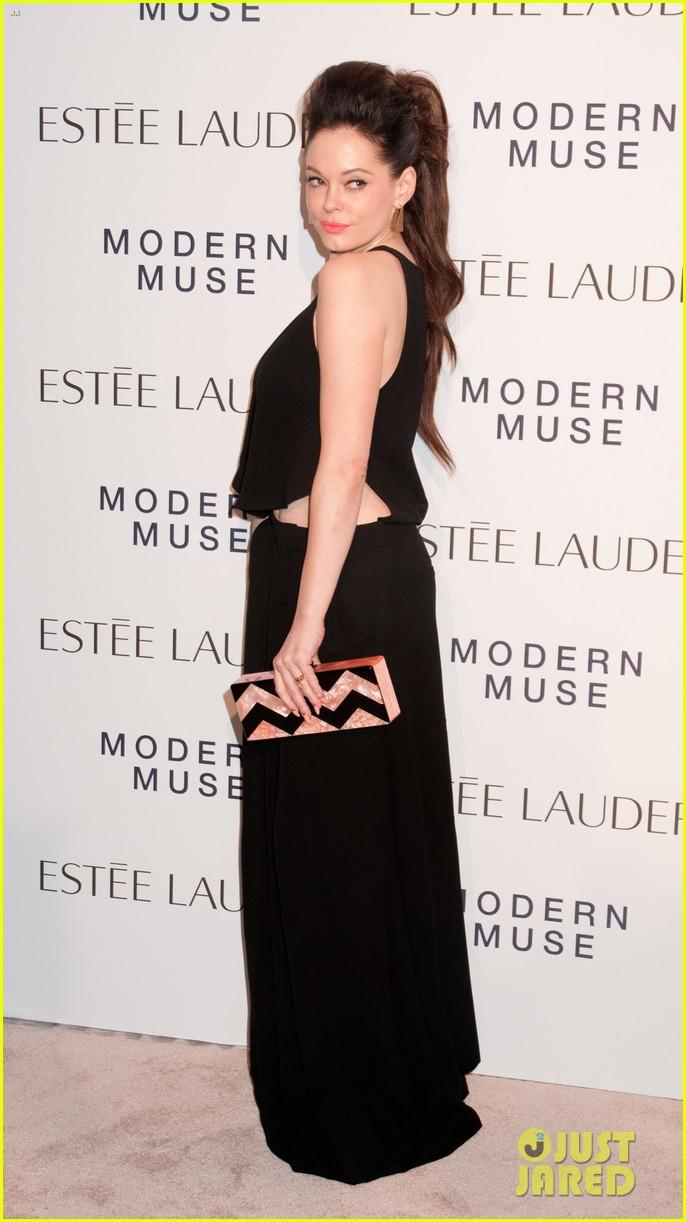 maggie gyllenhaal michelle dockery estee lauder launch 13
