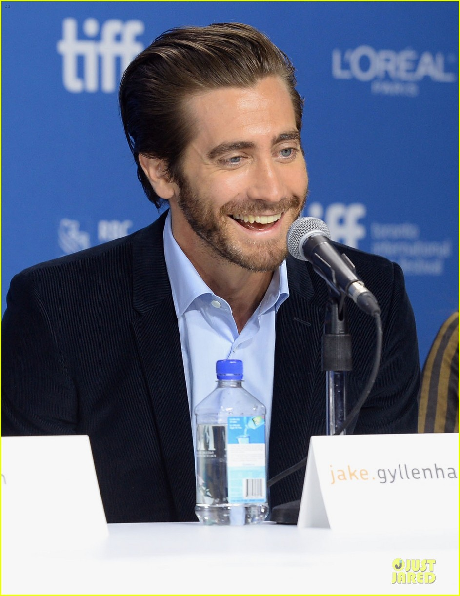 jake gyllenhaal hugh jackman prisoners tiff press conference 13