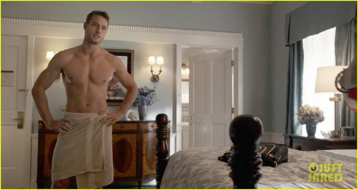 justin hartley josh bowman shirtless for revenge premiere 15