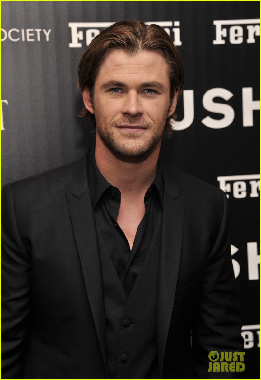 chris hemsworth daniel bruhl rush new york screening 062954867