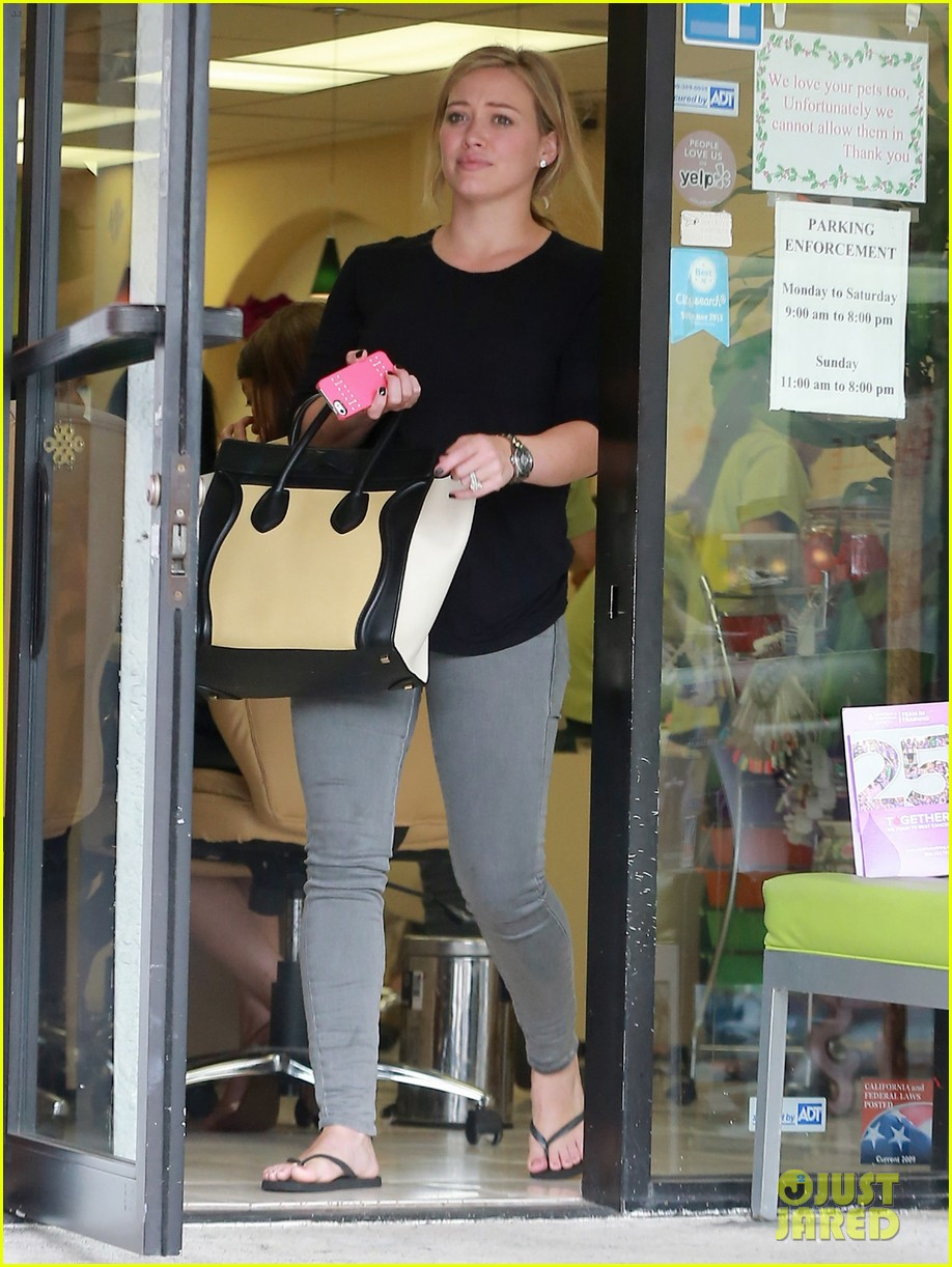 hilary duff girls day out with lisa stelly 17