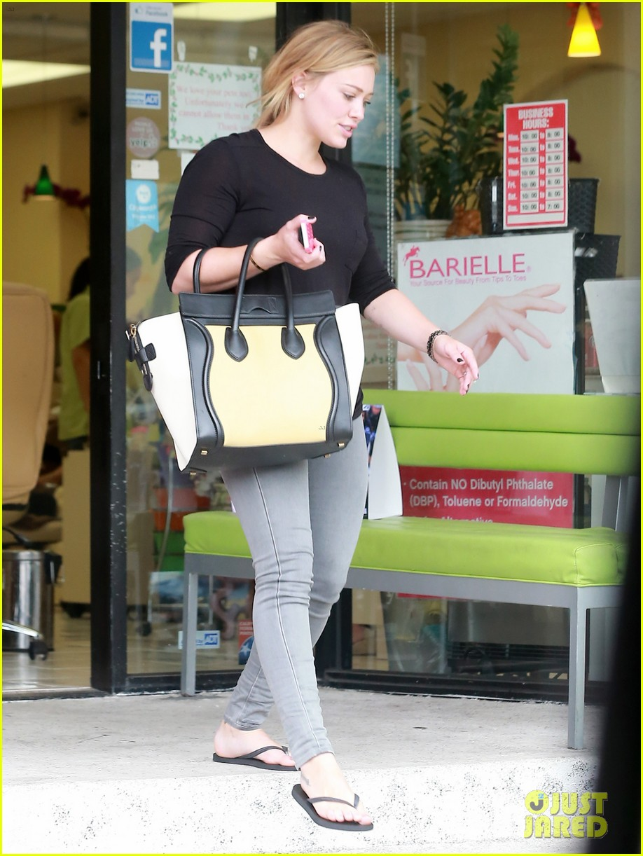 hilary duff girls day out with lisa stelly 20