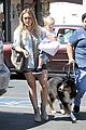 hilary duff hits starbucks after vet visit 16