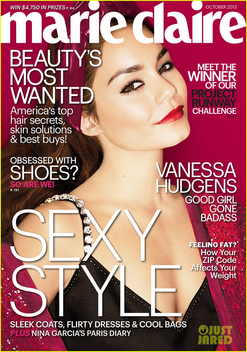 vanessa hudgens covers marie claire october 2013 02