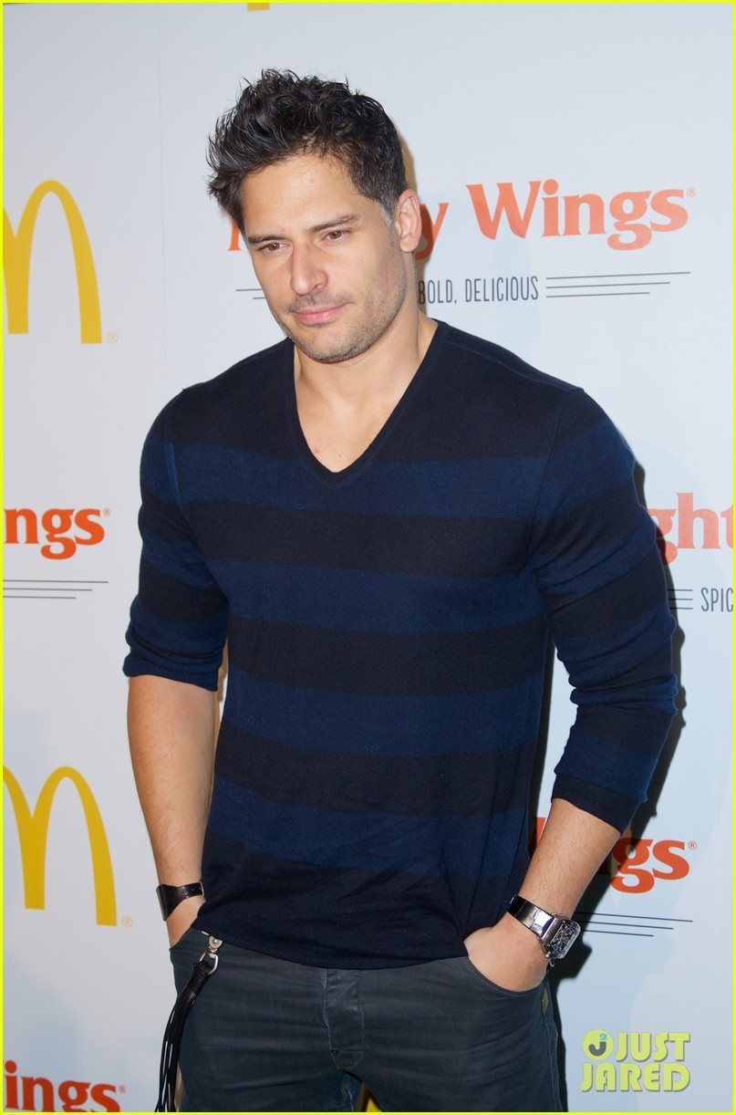 joe manganiello mcdonalds mighty wings launch 082953115