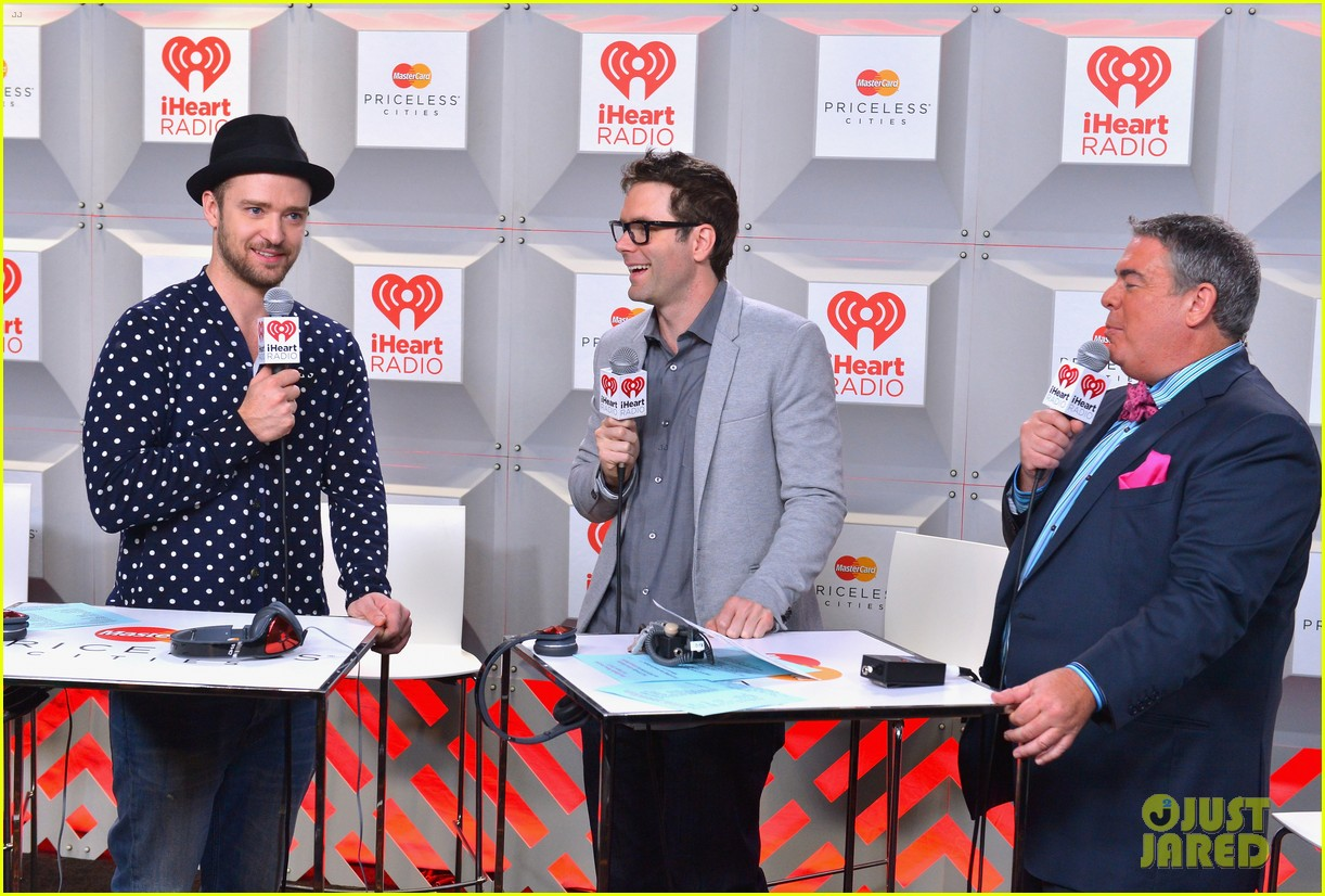 justin timberlake debuts two new songs iheartradio watch 08