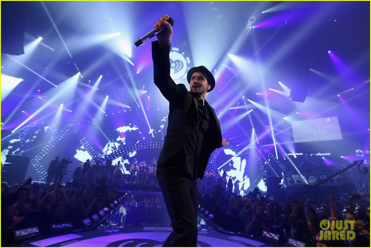 justin timberlake debuts two new songs iheartradio watch 11