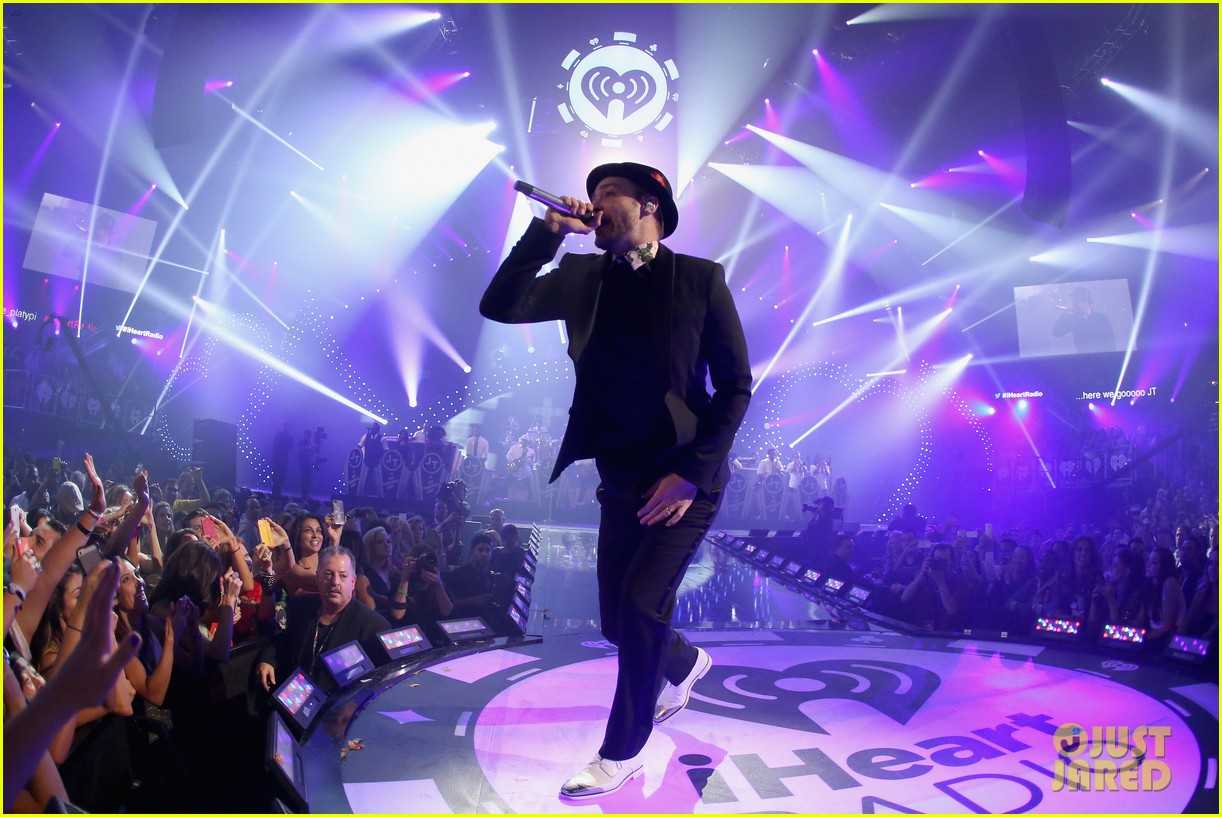 justin timberlake debuts two new songs iheartradio watch 21