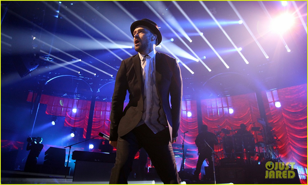 justin timberlake performs itunes music festival 2013 09