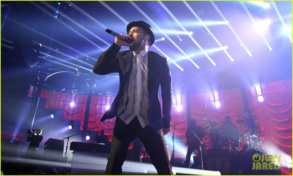 justin timberlake performs itunes music festival 2013 10