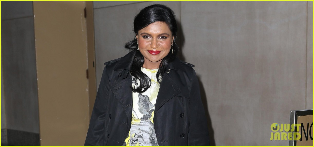 mindy kaling promotes mindy project premiere on today 03