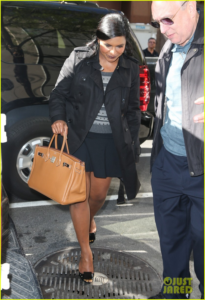 mindy kaling promotes mindy project premiere on today 042954600