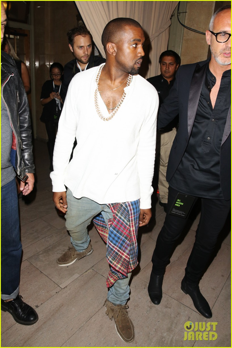 kanye west diesel black gold show after fallon surprise 082949454