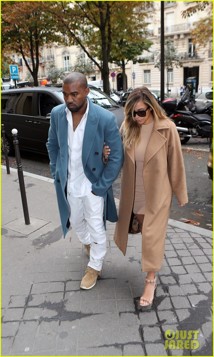 kim kardashian kanye west lavenue lunch duo 03