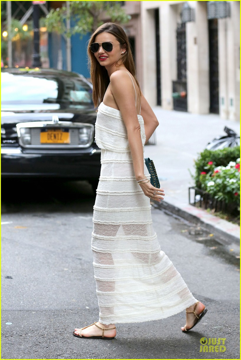 miranda kerr sports sheer dress for gal pal birthday 01