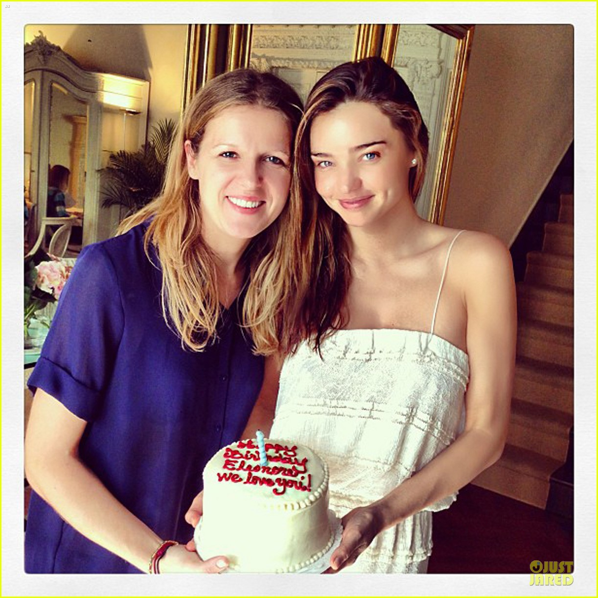 miranda kerr sports sheer dress for gal pal birthday 052953753