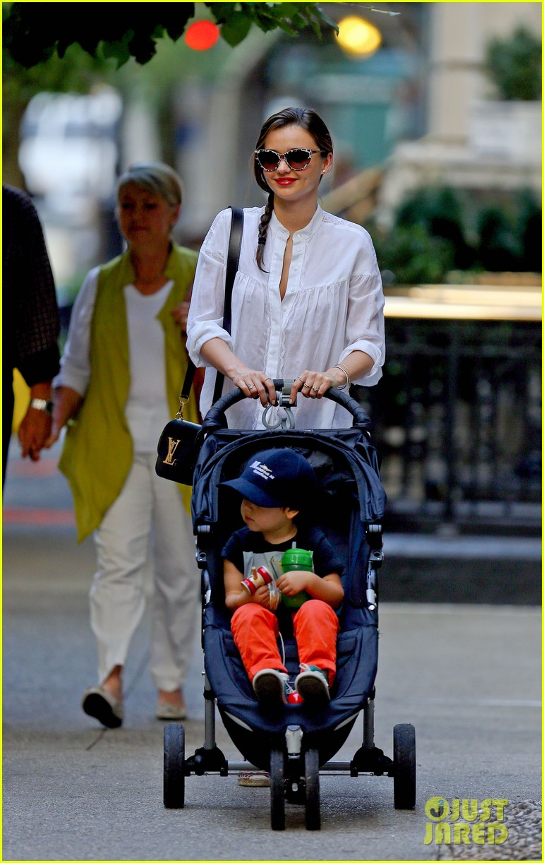 miranda kerr central park fun with flynn 072951308