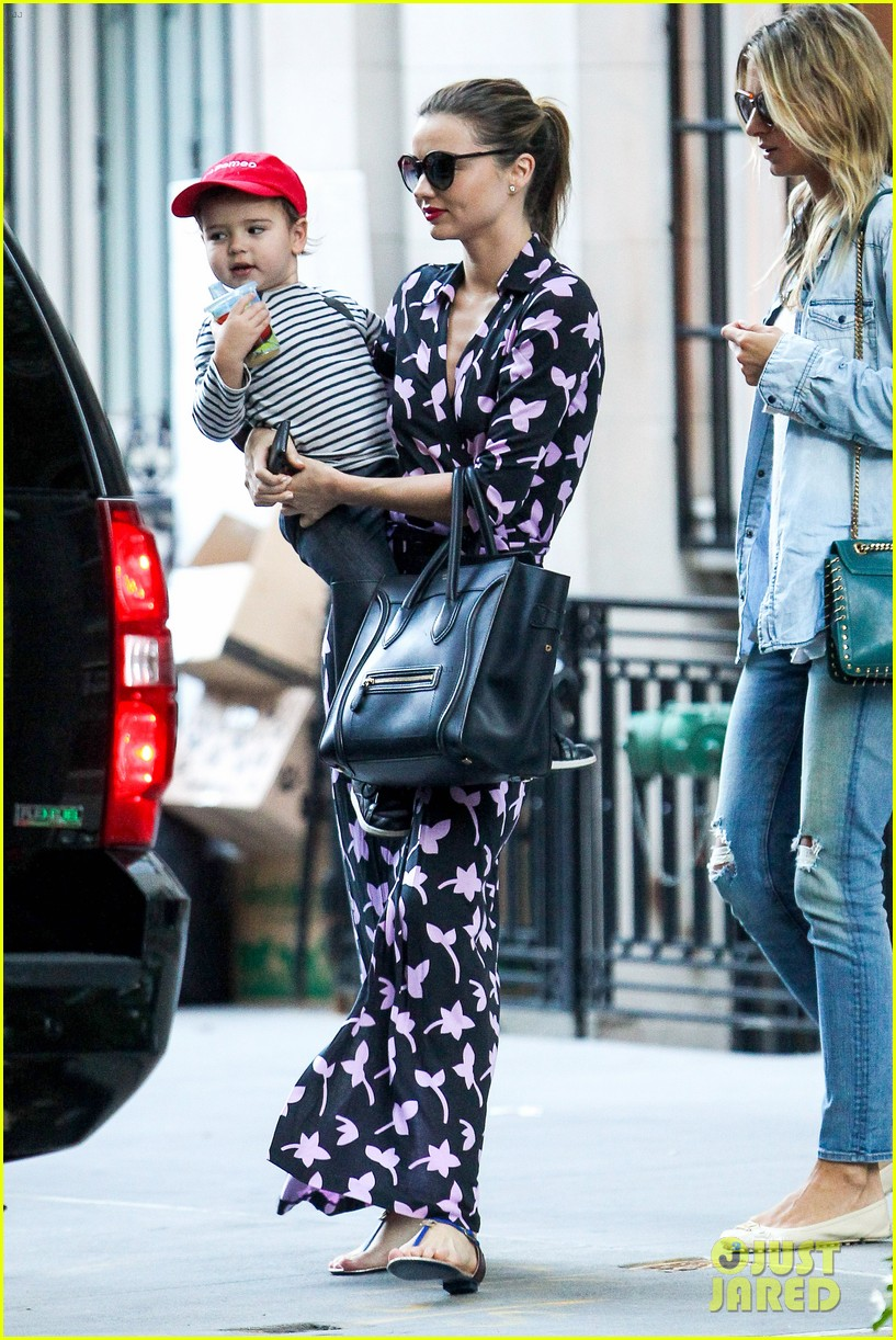 miranda kerr steps out with her lil romeo flynn 02