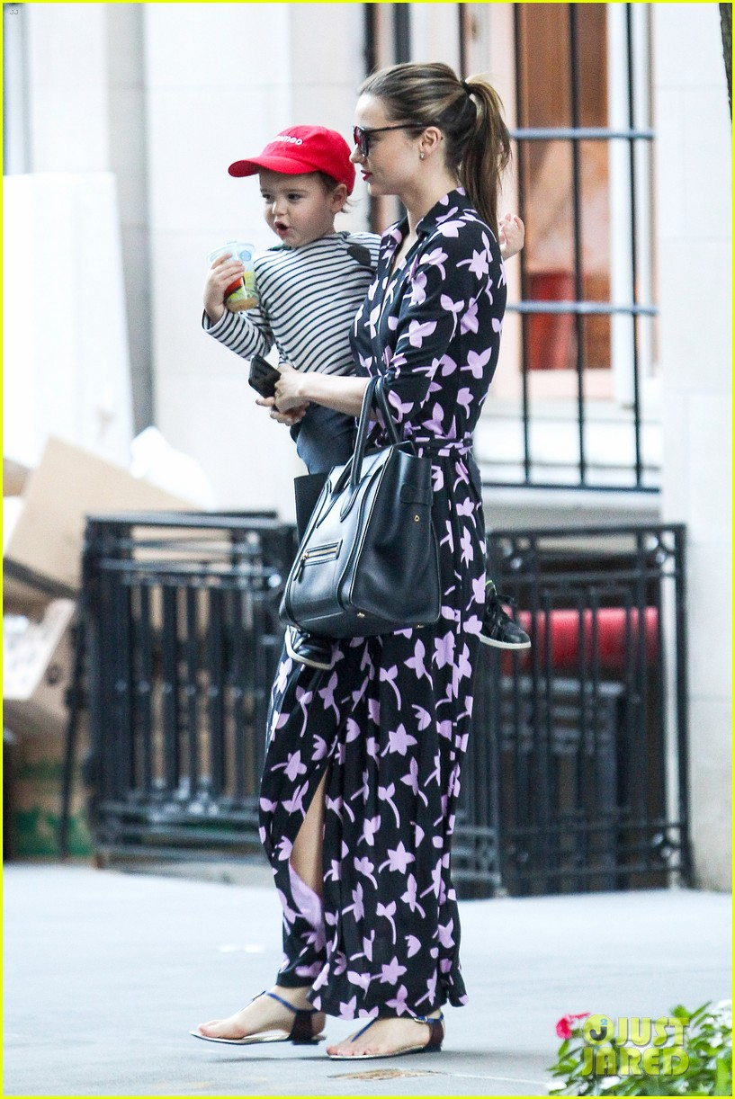 miranda kerr steps out with her lil romeo flynn 052954790