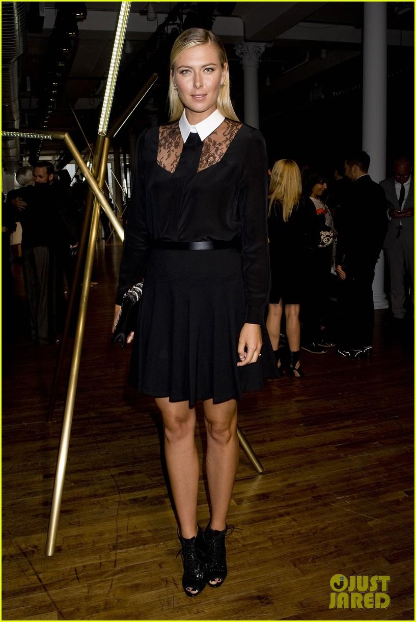alicia keys maria sharapova jason wu fashion show 07