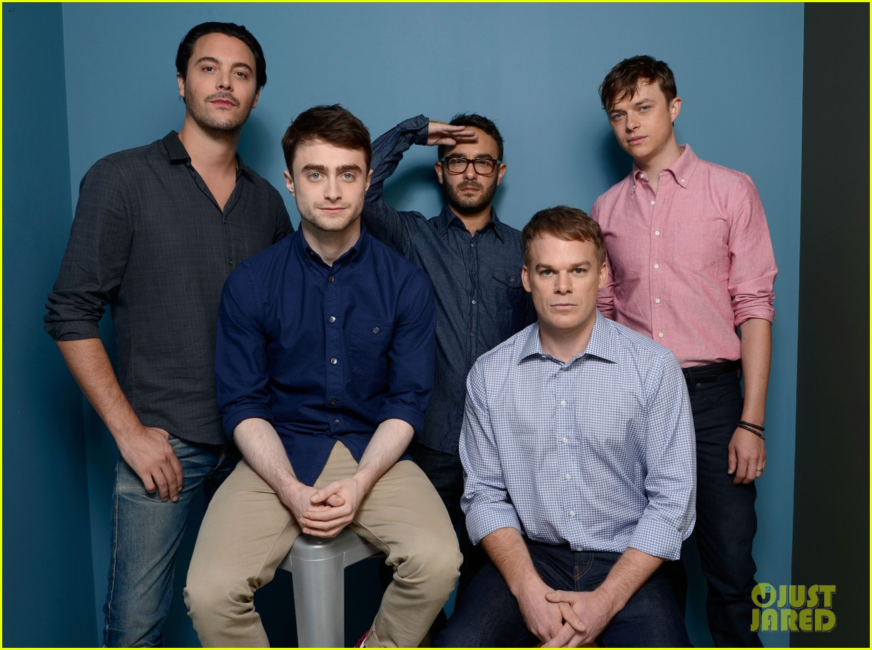 michael c hall daniel radcliffe kill your darlings tiff cast portraits 01