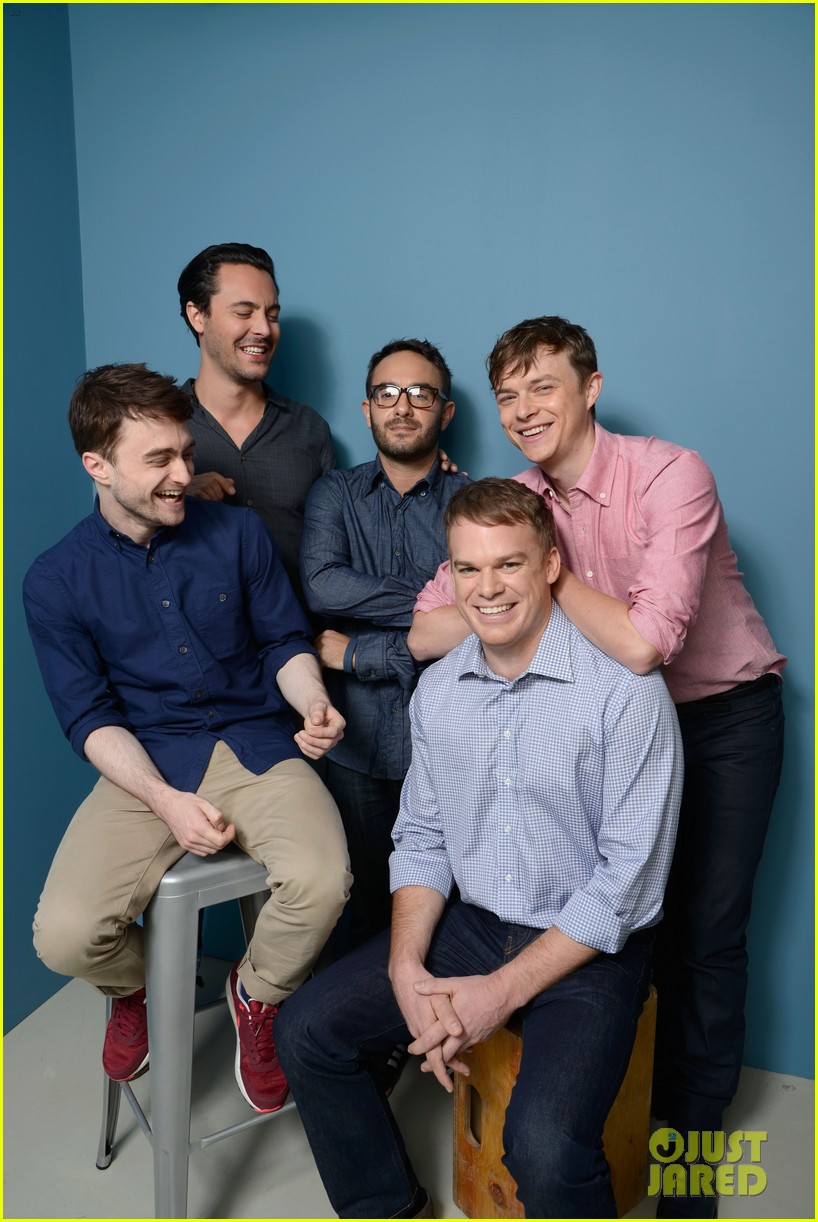 michael c hall daniel radcliffe kill your darlings tiff cast portraits 092946982