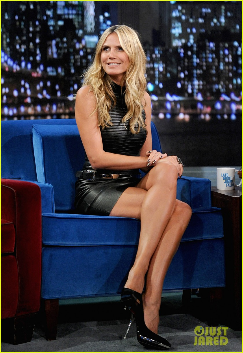 heidi klum terrified to film parks recreation guest spot 032944377