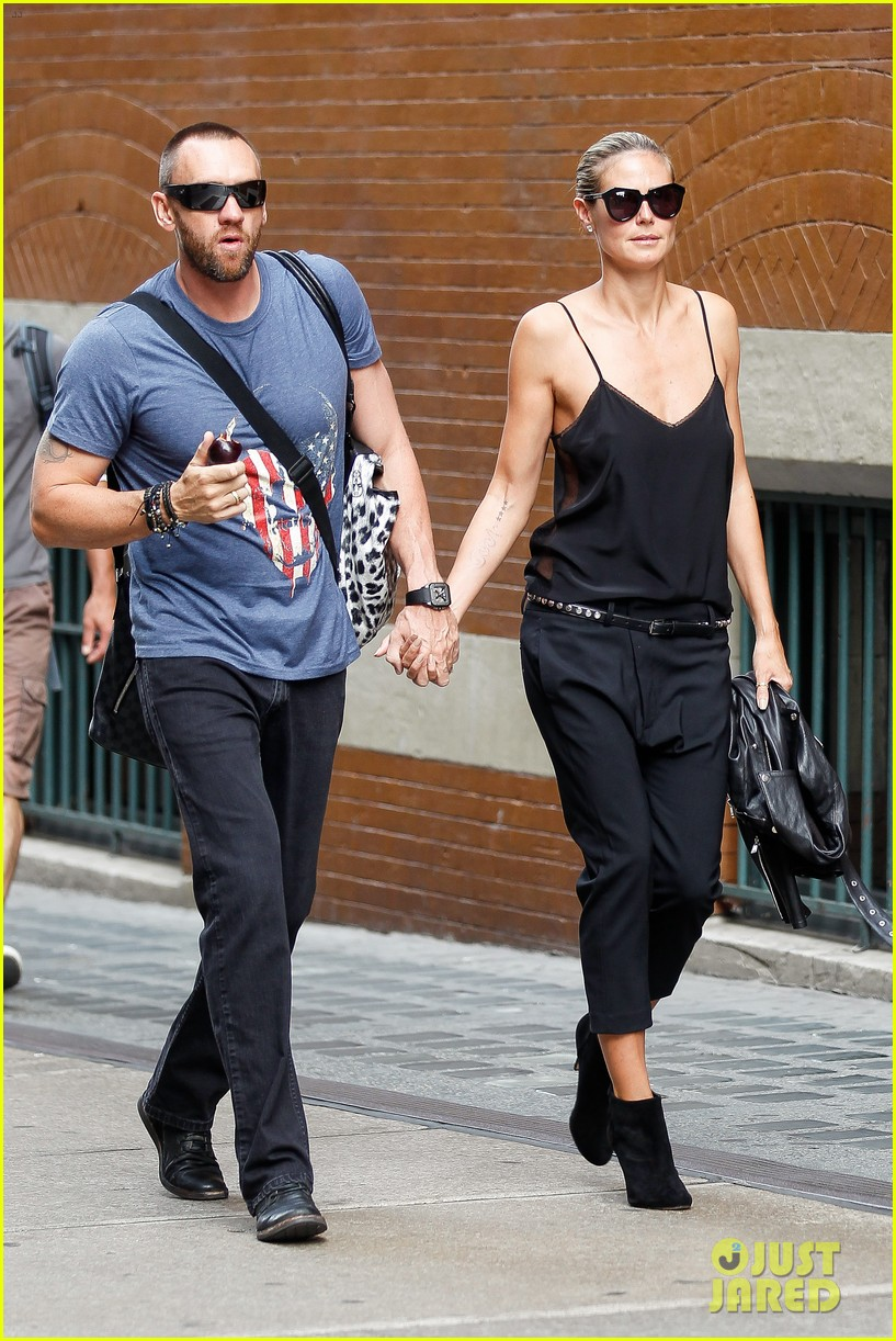 heidi klum martin kirsten soho morning stroll couple 102950007