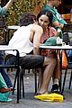 zoe kravitz penn badgley back together in rome 09