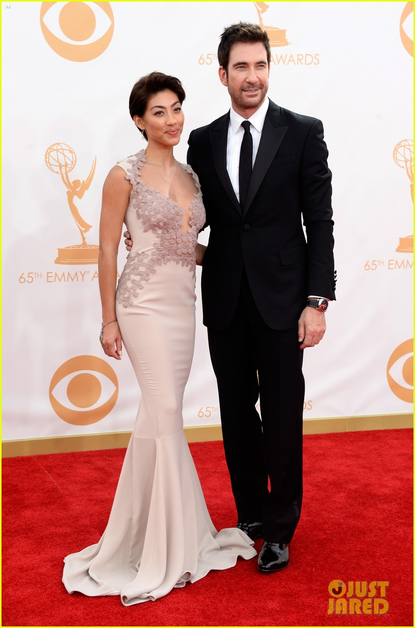 jessica lange dylan mcdermott emmys 2013 red carpet 01