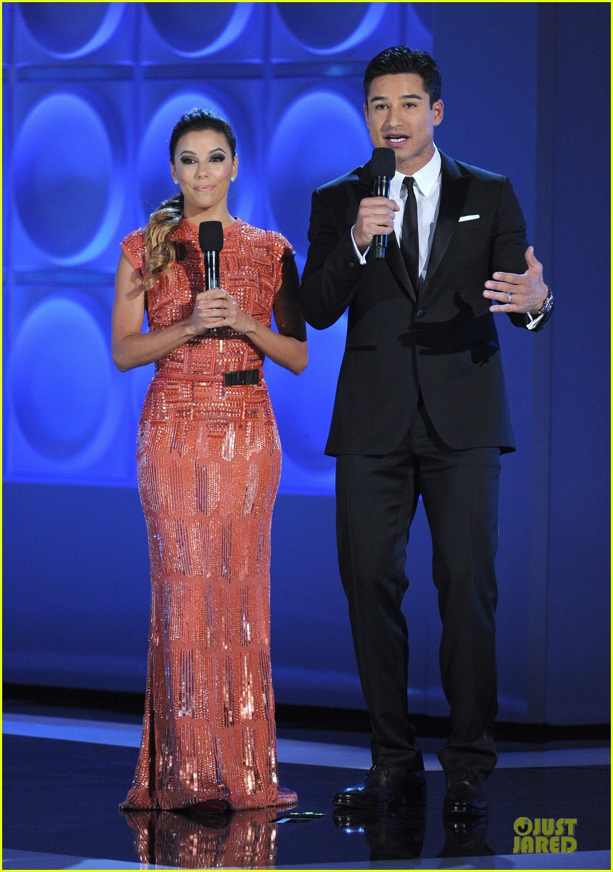 eva longoria multiple dresses as nclr alma awards host 01