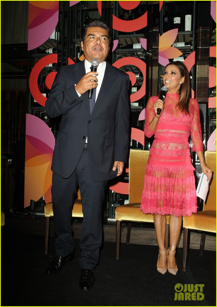 eva longoria attends her foundations dinner with friends 142962289