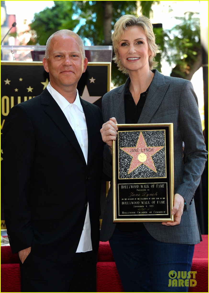jane lynch receives star on hollywood walk of fame 18
