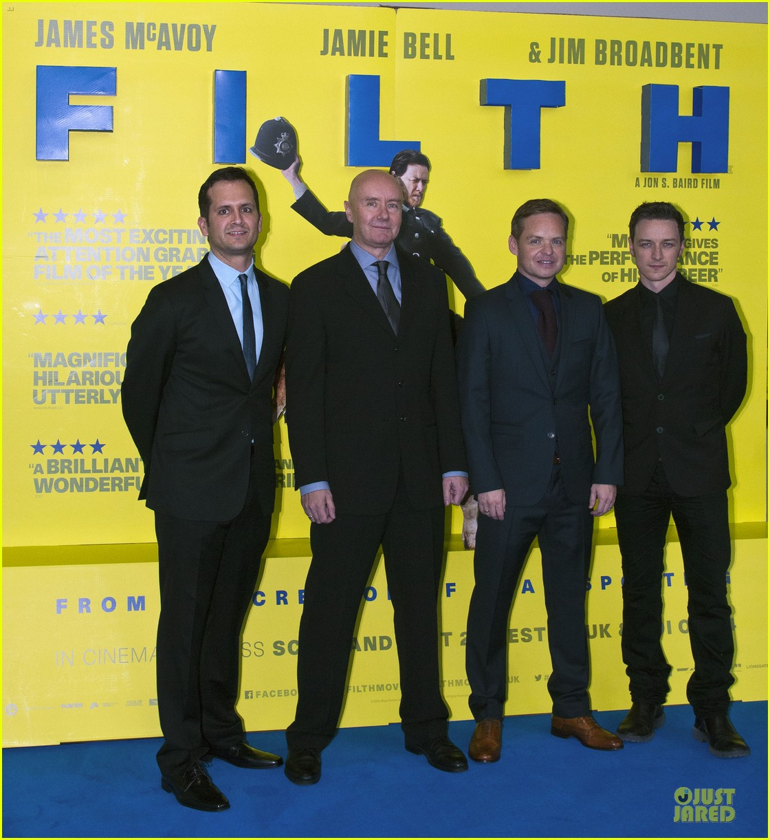 james mcavoy filth scotland premiere 03