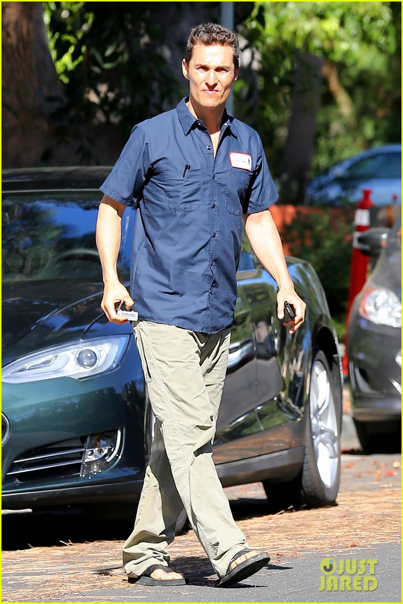 matthew mcconaughey i lost weight without excercise 06