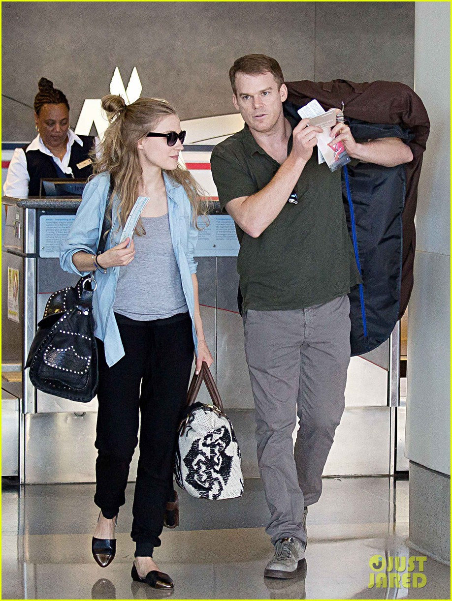 michael c hall morgan macgregor catch flight together 01