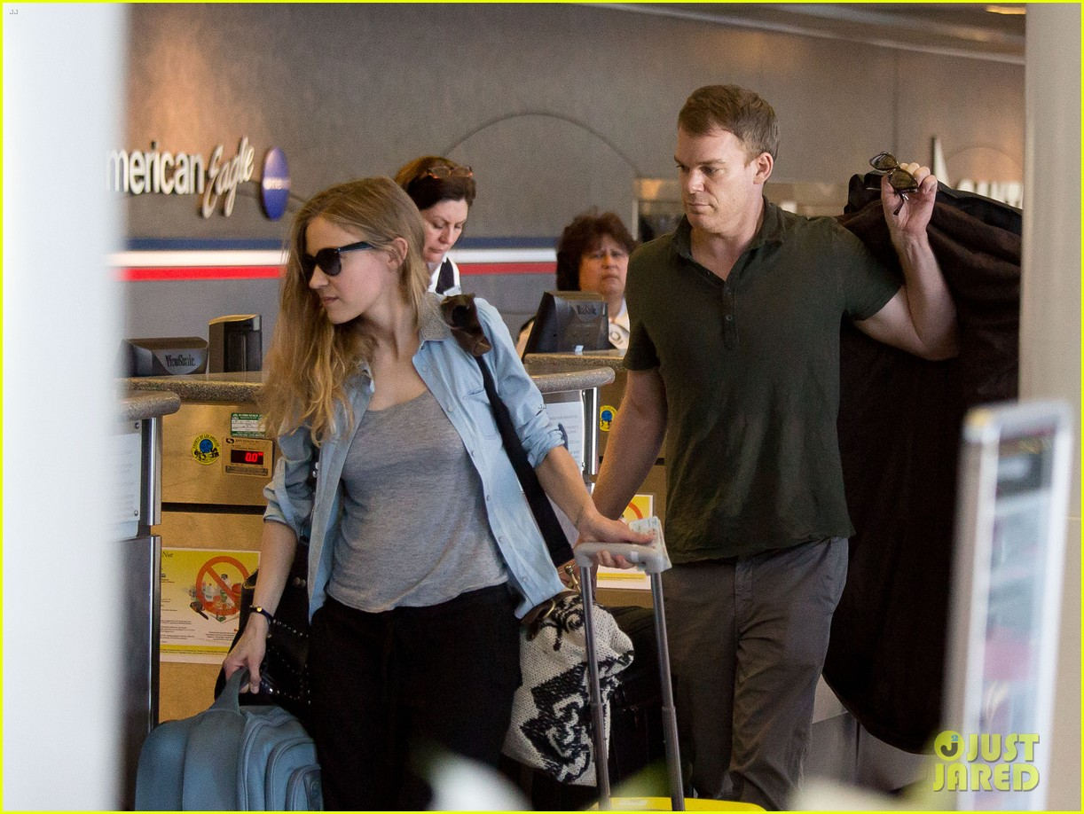 michael c hall morgan macgregor catch flight together 042944660